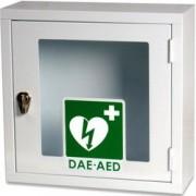 armadietto teca per defibrillatori - uso interno