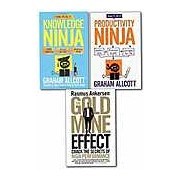 How To Be a Knowledge Ninja Productivity Ninja and having the Gold Mine Effect 3 Books Collection Set