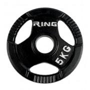 Olimpijski tegovi liveni sa hvatom 1x5kg RING PL14-5