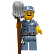 LEGO Minifigur 71011 serie 15 Fastighetsskötare