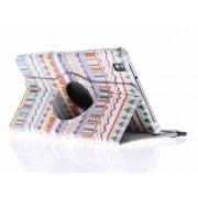 Aztec design 360° draaibare tablethoes voor de Samsung Galaxy Tab Pro 8.4