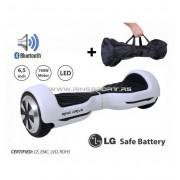 "Balans skuter hoverboard RING DRIVE-2 6"" WHITE-LG poklon torba!"