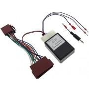 adaptershop Mando a distancia de volante FORD JVC Interface adaptador de Radio ISO connettore DIN Interface