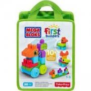 Конструктор Mega Bloks - Познавам цветовете - 4 налични цвята - Mattel, 1750232