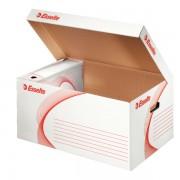 Container arhivare, alb, deschidere superioara