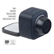 Mini-Selfie-Cam mit WLAN und App-Steuerung, 720p, Klebepad & Magnet