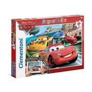 Clementoni 26940 - Cars Puzzle, con App, 60 Pezzi