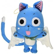 Great Eastern GE-6968 Animation Official Fairy Tail Anime Happy 8 Plush