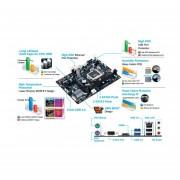 Tarjeta Madre GIGABYTE GA-H81M-H, Chipset Intel H81, Socket 1150, DDR3, SATA II, S ATA III
