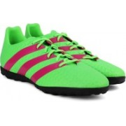 Adidas ACE 16.4 TF Football Shoes(Green, Pink)