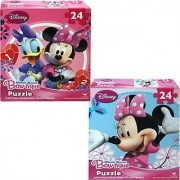 Minnie Mouse Bowtique 24 Piece Puzzles - Set of 2 - Minnie and Daisy