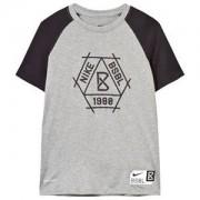 NIKE Baseball Dry T-shirt Grå L (12-13 years)