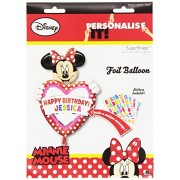 Amscan Super Shape Minnie Birthday Personal Balloon Party Accessory
