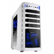 Sharkoon REX3 Value Edition - Midi-Tower White/Black / Window-Kit