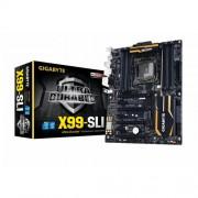Gigabyte X99-SLI Scheda Madre Intel 2011, Dual M.2, Nero