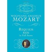 Wolfgang Amadeus Mozart W.A. Mozart: Requiem K.626 (Miniature Score) (Dover miniature scores)