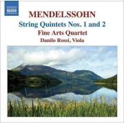 F. Mendelssohn-Bartholdy - String Quintets (0747313048878) (1 CD)