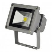 LED-FL-10W fényvető/reflektor, 4000K, szürke
