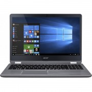 "Notebook Acer Aspire R5-571TG, 15.6"" Full HD Touch, Intel Core i5-6200U, GT 940MX 2GB, RAM 8GB, HDD 1TB+128GB SSD, Windows 10, Argintiu"