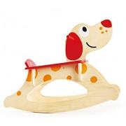 """Hape hap-e0103 """"Natale speciale rock-a-long cucciolo Ride On Toy"""