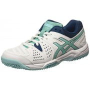 ASICS - Gel-padel Pro 3 Sg, Zapatillas de Tenis Mujer, Blanco (white/pool Blue/blue Steel 0139)
