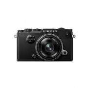 Aparat foto Mirrorless Olympus PEN-F 20.3 Mpx Black Kit 17mm f/1.8
