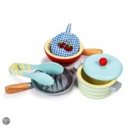 Le Toy Van - Honeybake Pots And Pans Set /Toys
