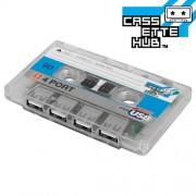 Cassette Hub USB (Transparente)