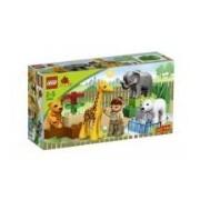 Duplo Lego Ville Baby Zoo V70 (4962) - 18 Pieces