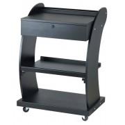 Weelko Kosmetický stolek Weelko SUPPORT - 3 police, tmavě hnědý (1018A) + DÁREK ZDARMA