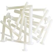 Műanyag kereszthornyú csavar (M3x30, 10 db)