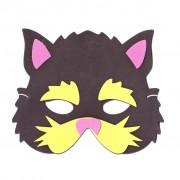 Black Cat Childrens Foam Animal Mask