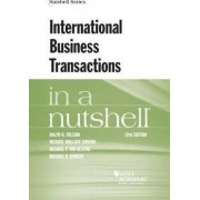 International Business Transactions in a Nutshell by Ralph Folsom