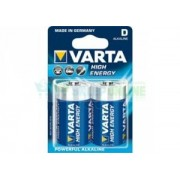 Bateria LR20 Varta High Energy 1.5V