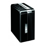 Fellowes DS-1200Cs - Destructora trituradora de papel, 11 hojas, color negro