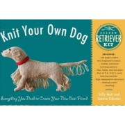 Knit Your Own Dog: Golden Retriever Kit by Sally Muir