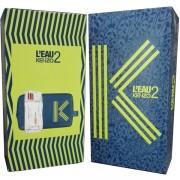 Kenzo L'Eau 2 Комплект (EDT 50ml + Fashion Pouch) за Мъже
