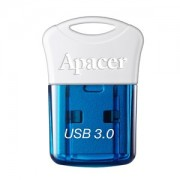 USB DRIVE, 16GB, Apacer AH157 Super-mini, USB3.0, Blue (AP16GAH157U-1)