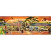 Melissa and Doug Safari Floor Puzzle, Multi Color (100 Pieces)