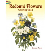 Redoute Roses Colouring Book by Charlene Tarbox