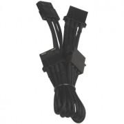 Cablu adaptor BitFenix Alchemy 4-pini Molex la 3x 4-pini Molex, 55cm, negru, BFA-MSC-M3MKK-RP