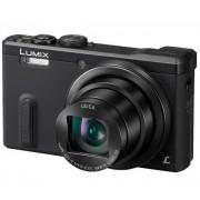Lumix DMC-TZ61 - Cámara digital - 3D - compacta - 18.1 Mpix - 30 zoom óptico x - Leica - Wi-Fi - negro