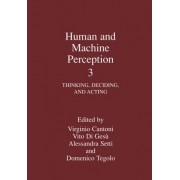 Human and Machine Perception: Thinking, Deciding, and Acting v.3 by V. Cantoni