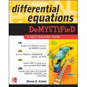 Differential Equations Demystified by S. Krantz