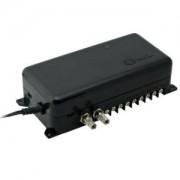Booster para Video Porteiro Coletivo Amplificador e Divisor de Sinal de Vídeo HDL 90.02.01.659
