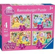 Ravensburger 07067 - Disney Princess Palace Pets 4 Puzzle