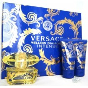 Versace Yellow Diamond Intense Woda perfumowana 50ml spray + Żel pod prysznic 50ml + Balsam do ciała 50ml
