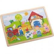 HABA Puzzle drewniane Farma Adama