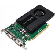 Placa Video profesionala PNY nVidia Quadro K2000D KEPLER, 2GB, GDDR5, 128bit