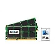 Crucial CT16G3S186DM Kit Memoria RAM per Mac da 32 GB, 2x16 GB, DDR3L, 1866 MT/s, PC3-14900 SODIMM, 204-Pin